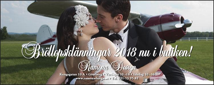 Nytt brudklänningar 2018