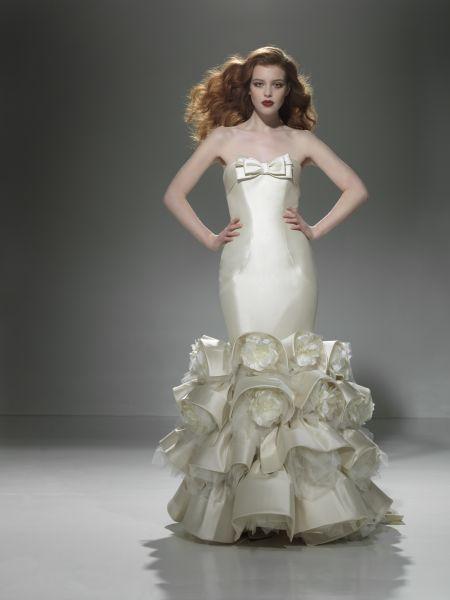 Exklusiv brudklänning 9669