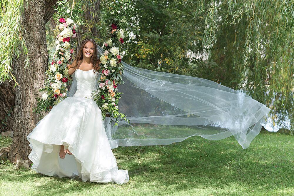 Ramona Design romantiska brudklänningar