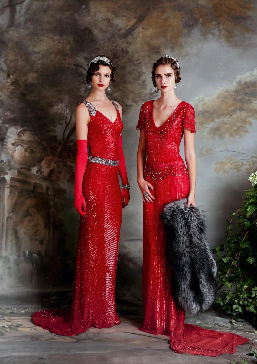 20-tal Vintage brudklänning 008
