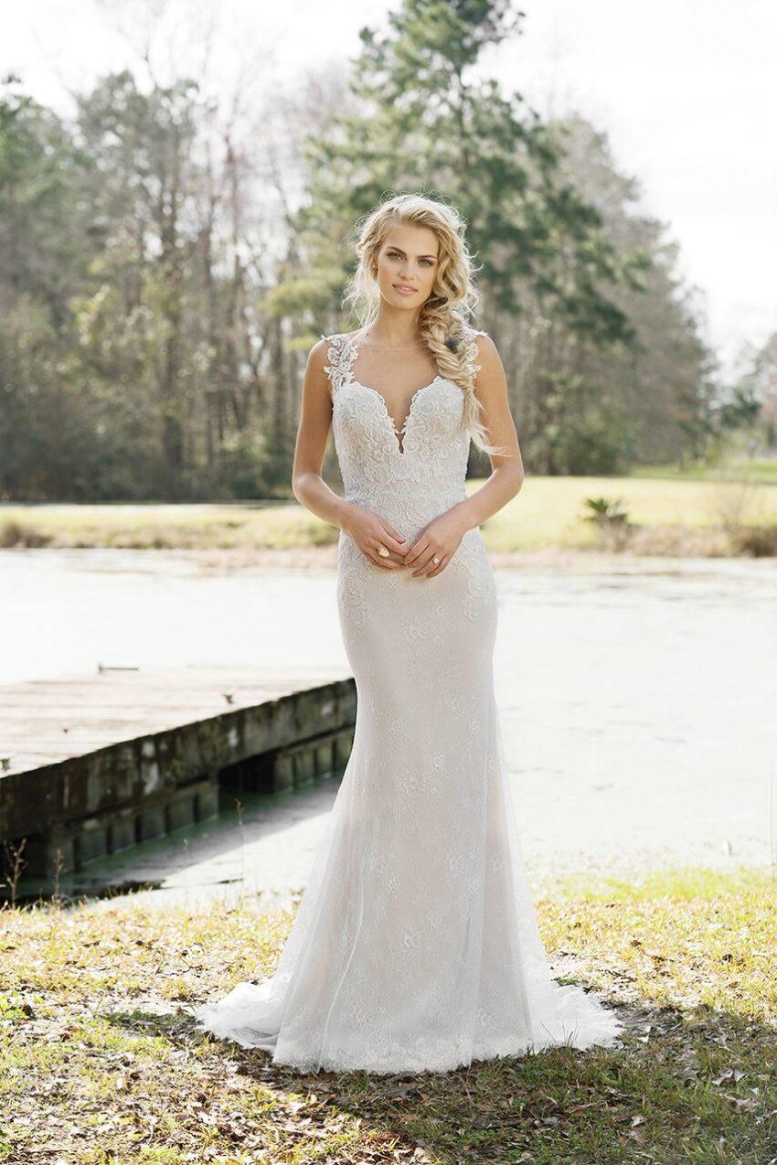 Bohemisk brudklänning 06