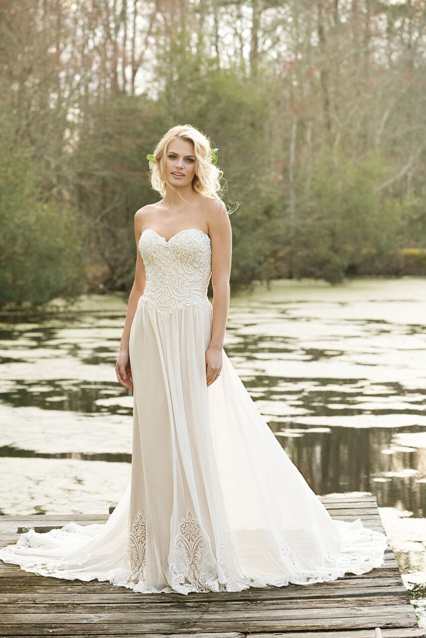Bohemisk brudklänning 07