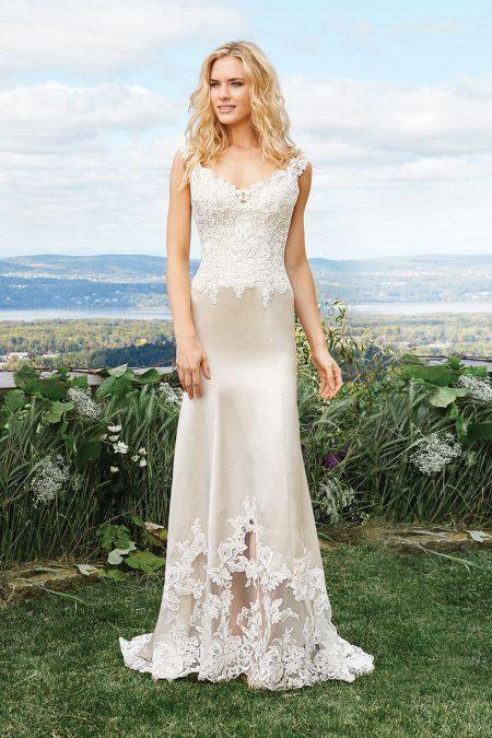 Bohemisk brudklänning 09