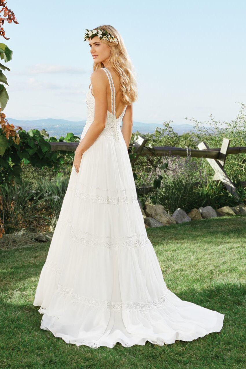 Bohemisk brudklänning 12