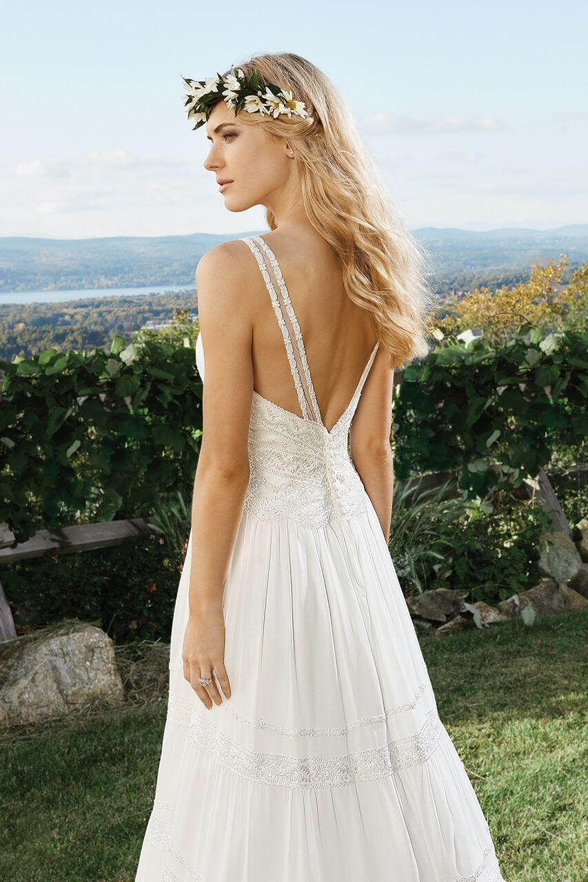 dcba7cc89e1e Bohemisk brudklänning 12 | Ramona Design Bröllopsklänningar