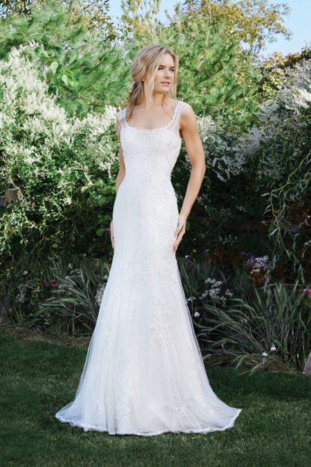 Bohemisk brudklänning 14
