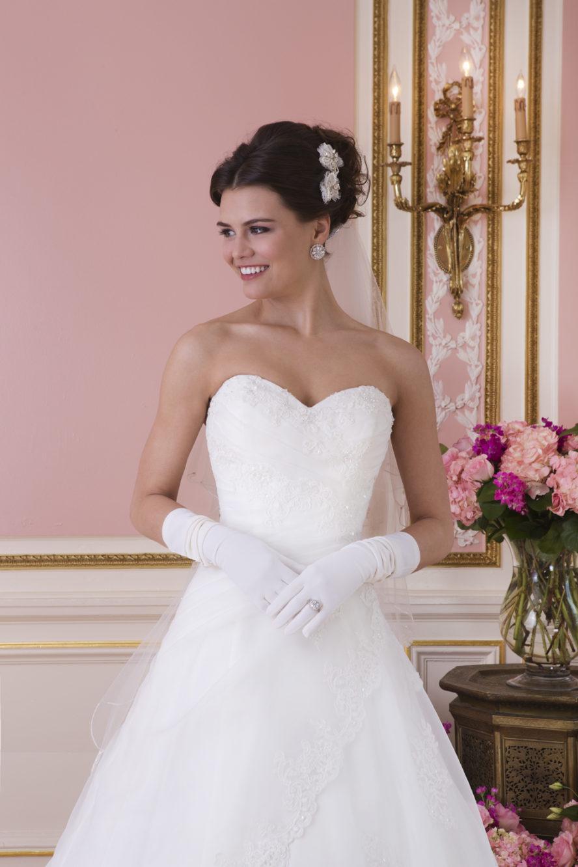 Enkel brudklänning Ramona Design Göteborg