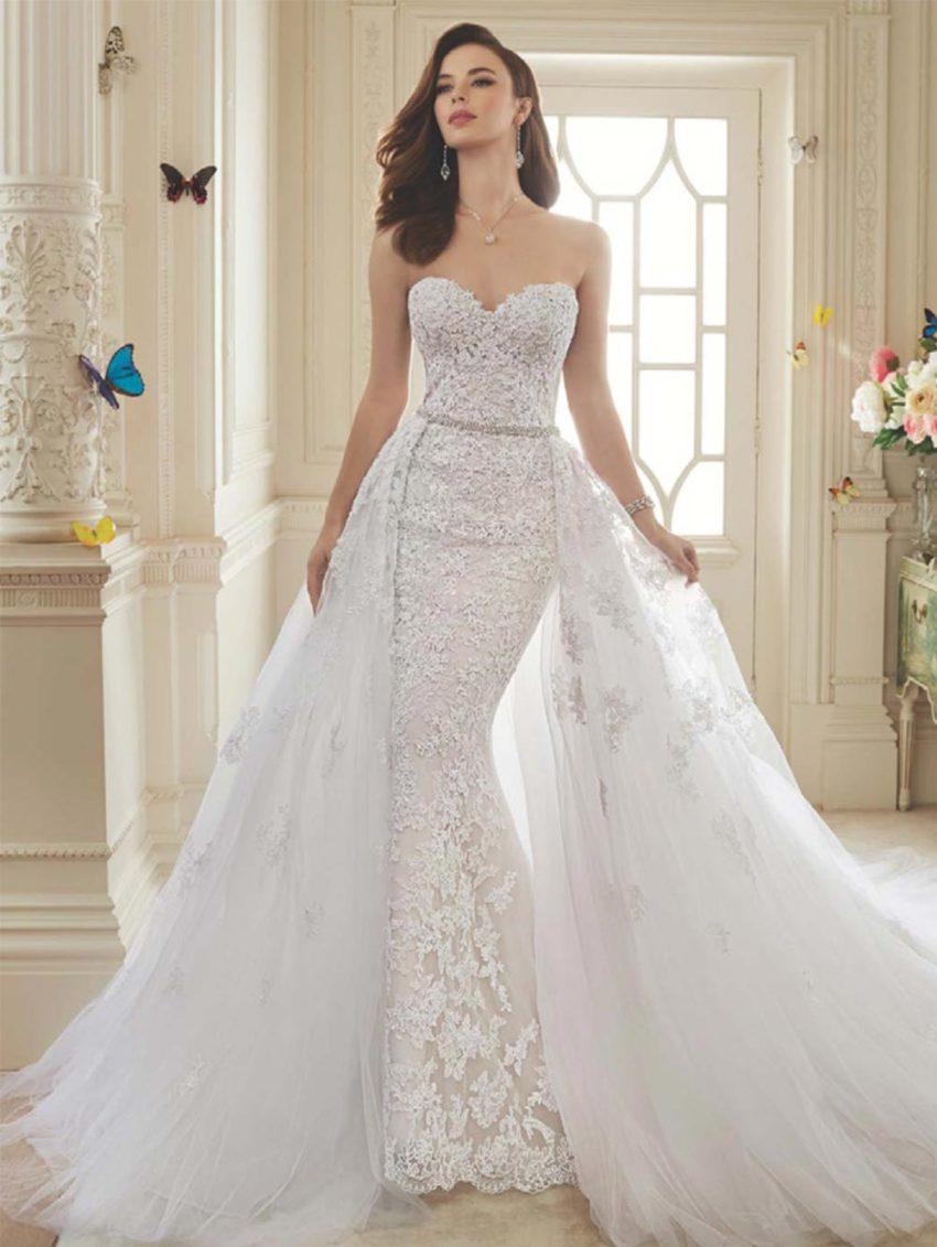 Exklusiv brudklänning EN00001