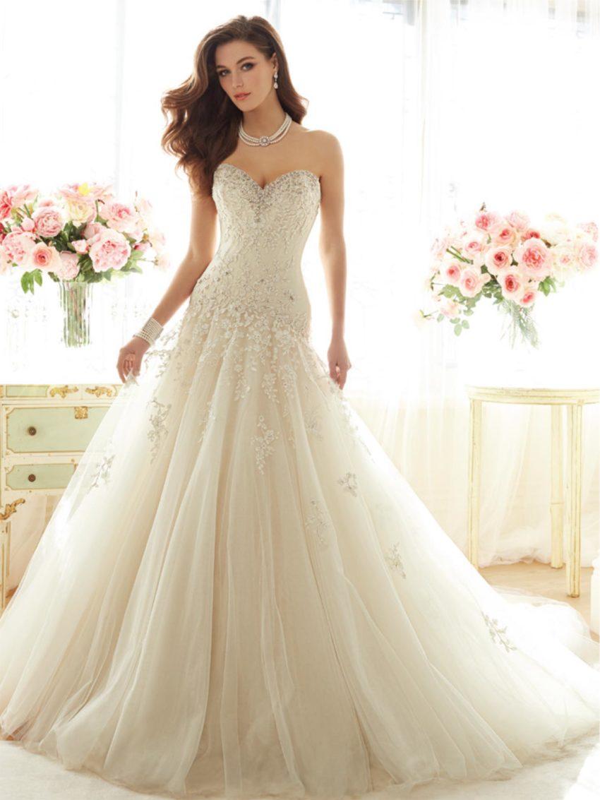 Exklusiv brudklänning EN00003