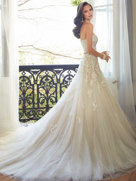 Exklusiv brudklänning EN00004