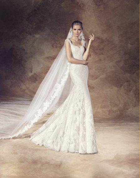 Klassisk brudklänning 0005