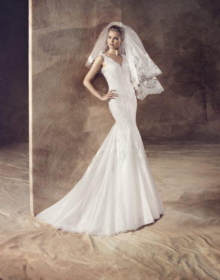 Klassisk brudklänning 0006