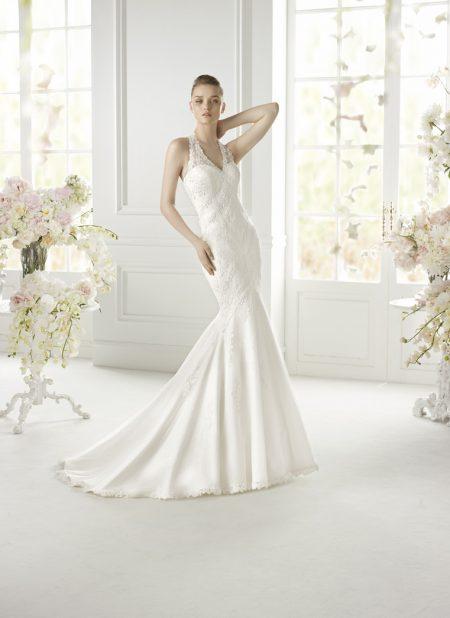 Klassisk brudklänning 006