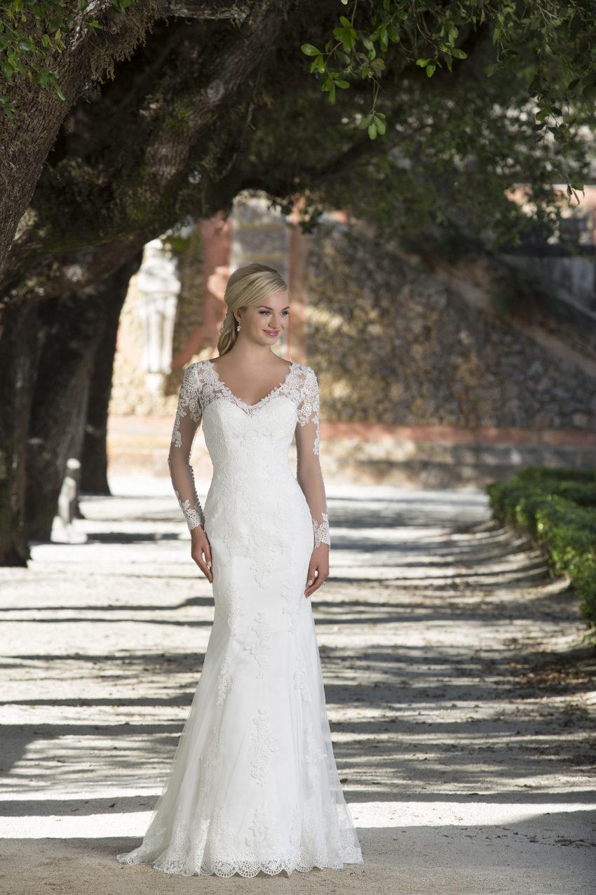 Romantisk brudklänning 0001