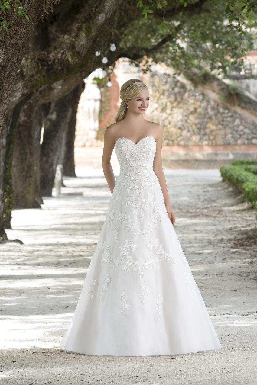 Romantisk brudklänning 0002