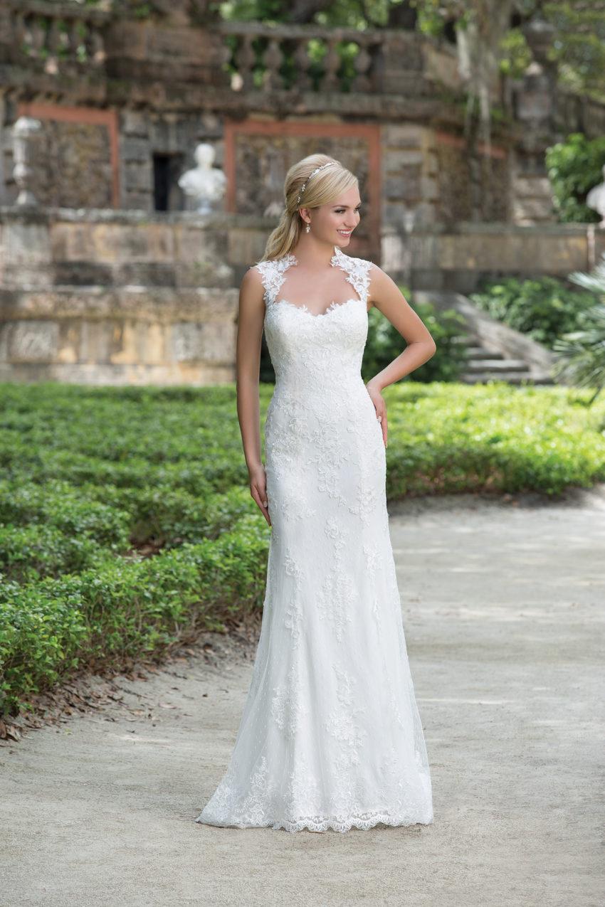Romantisk brudklänning 0004