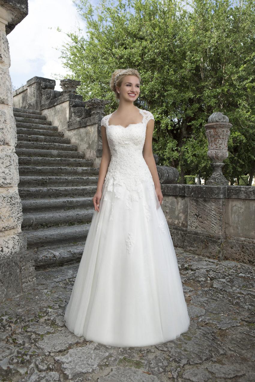 Romantisk brudklänning 0009