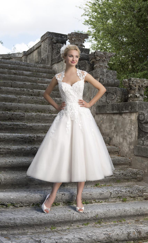 Romantisk brudklänning 0010