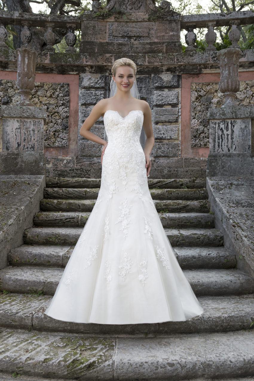 Romantisk brudklänning 0011