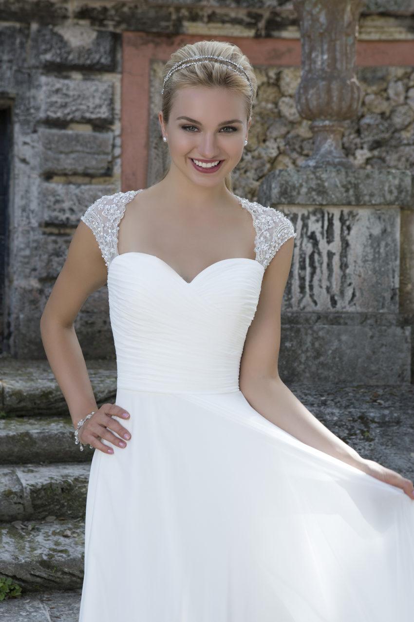 Romantisk brudklänning 0012