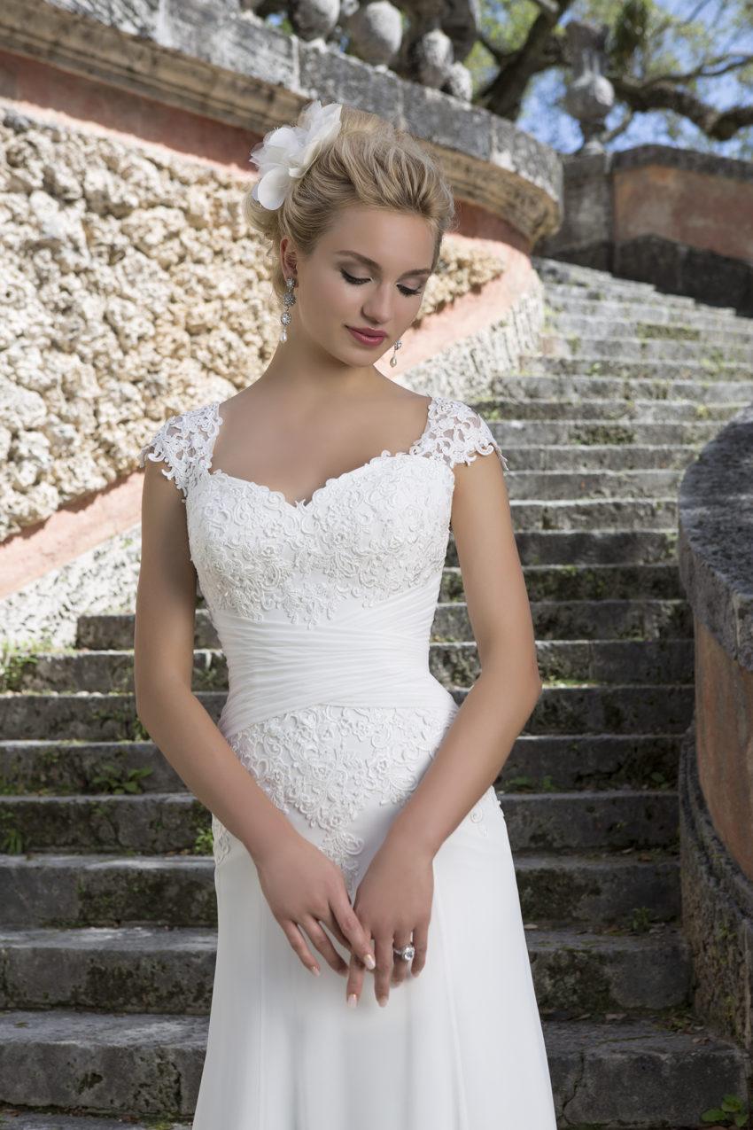 Romantisk brudklänning 0013