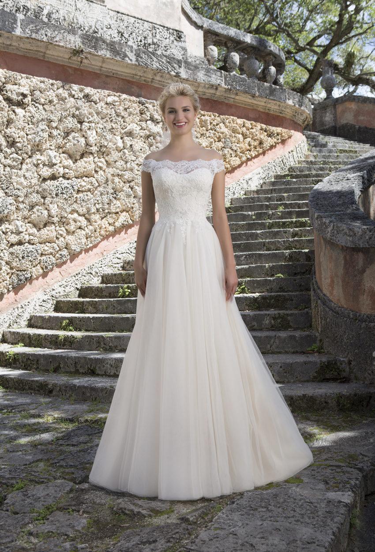 Romantisk brudklänning 0014