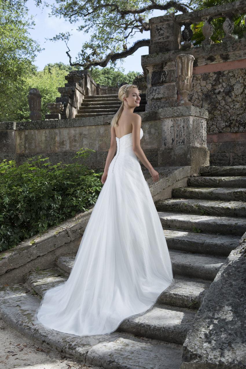 Romantisk brudklänning 0015