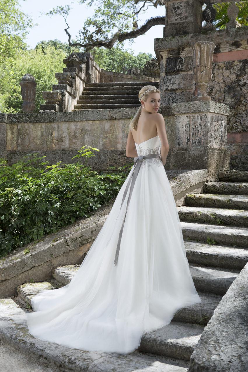 Romantisk brudklänning 0017