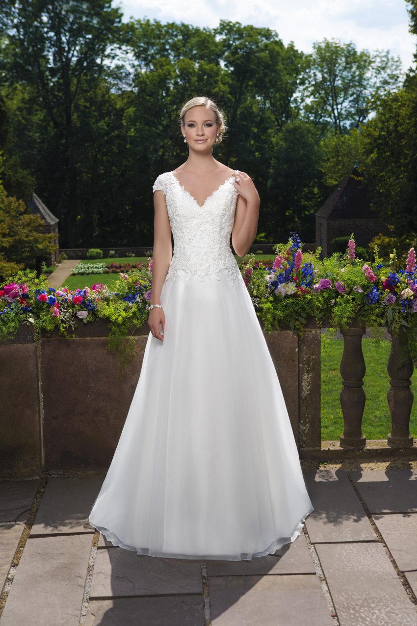 Romantisk brudklänning 0019