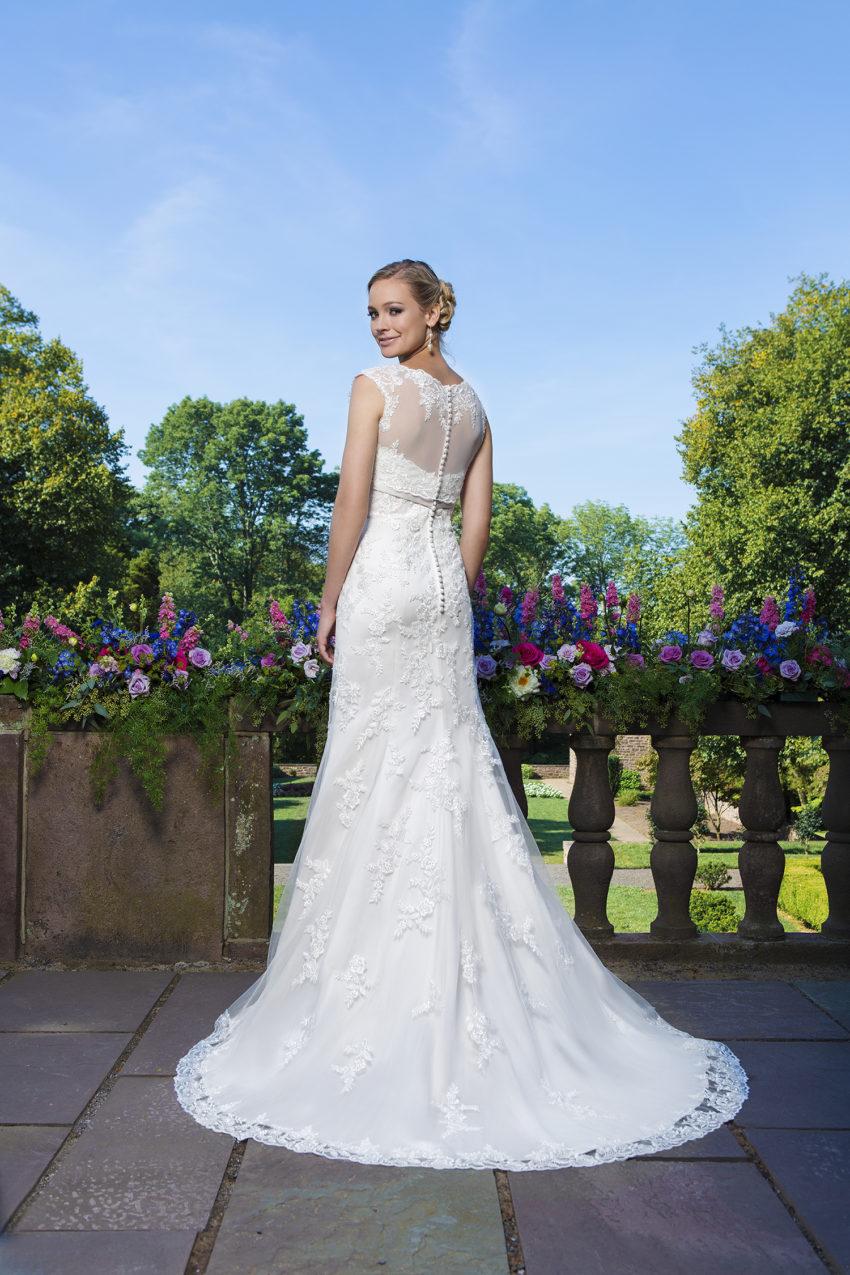 Romantisk brudklänning 0020
