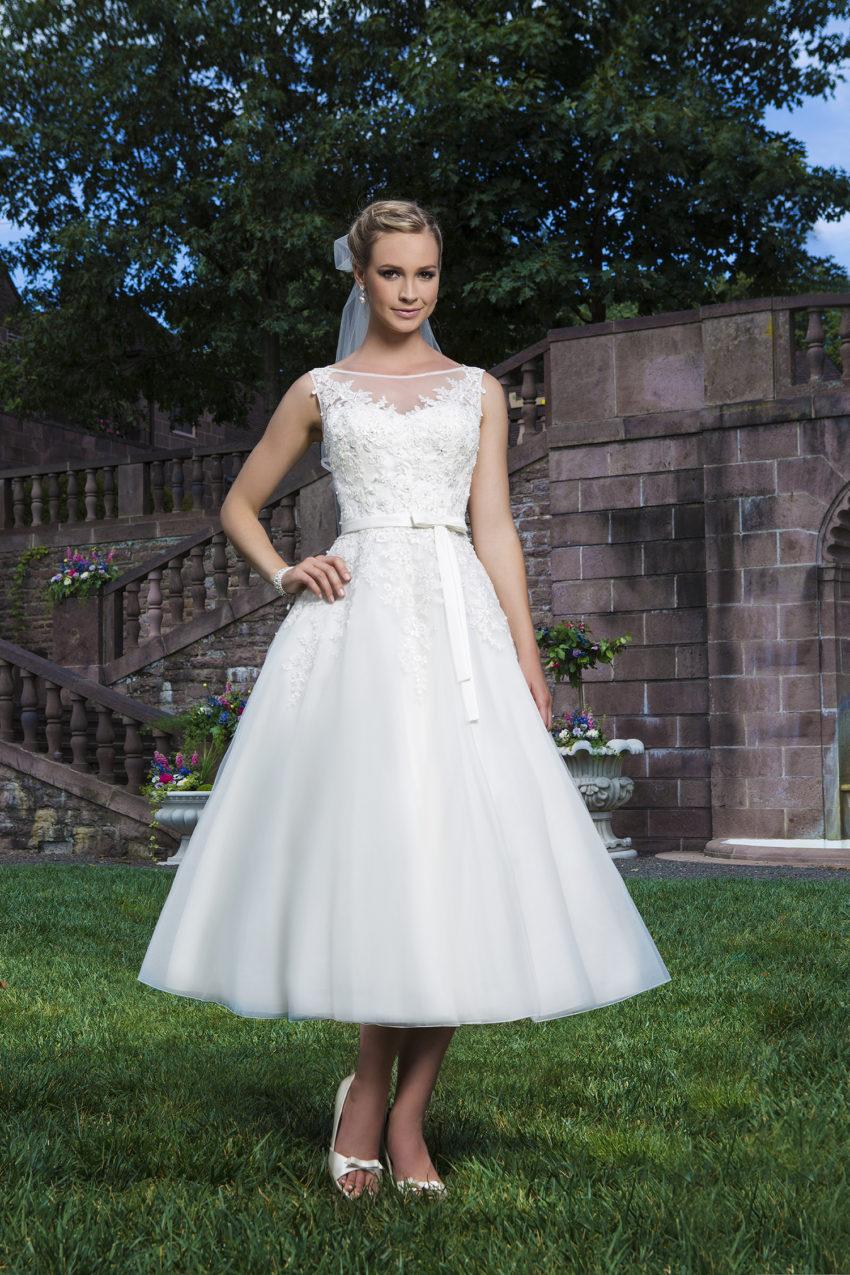 Romantisk brudklänning 0023