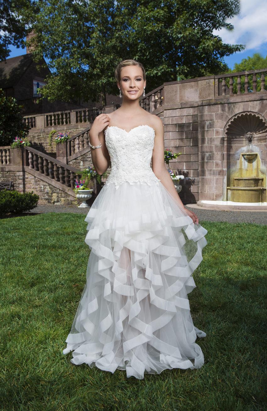 Romantisk brudklänning 0024