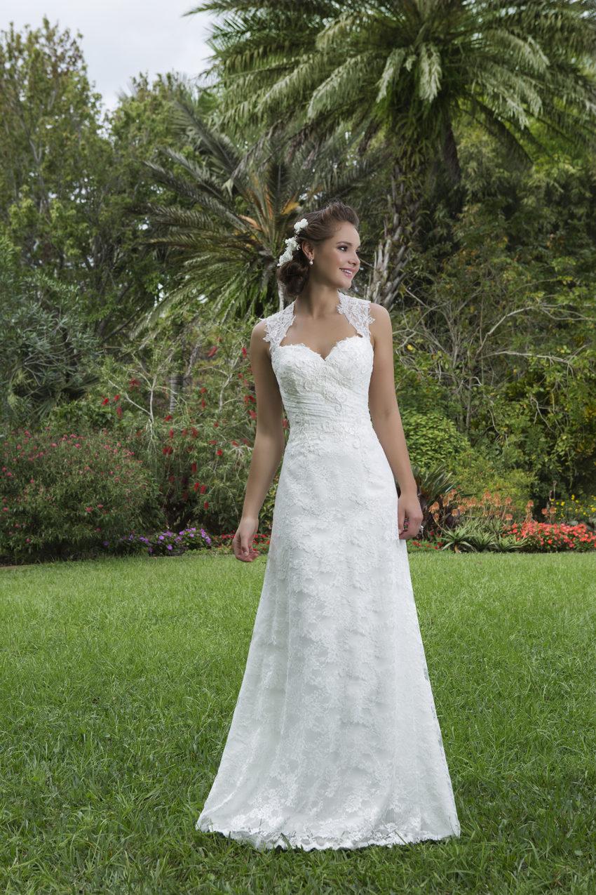 Romantisk brudklänning 0025