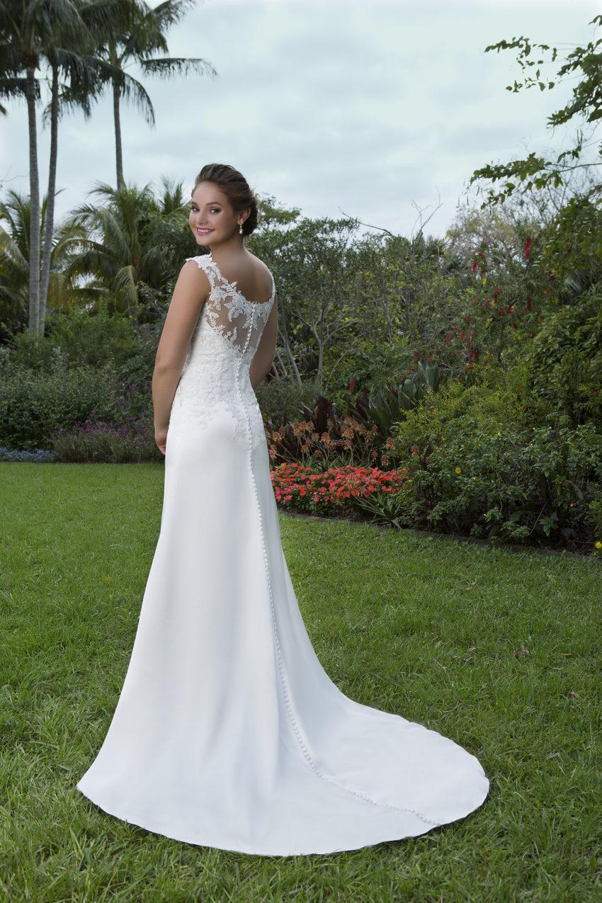 Romantisk brudklänning 0027