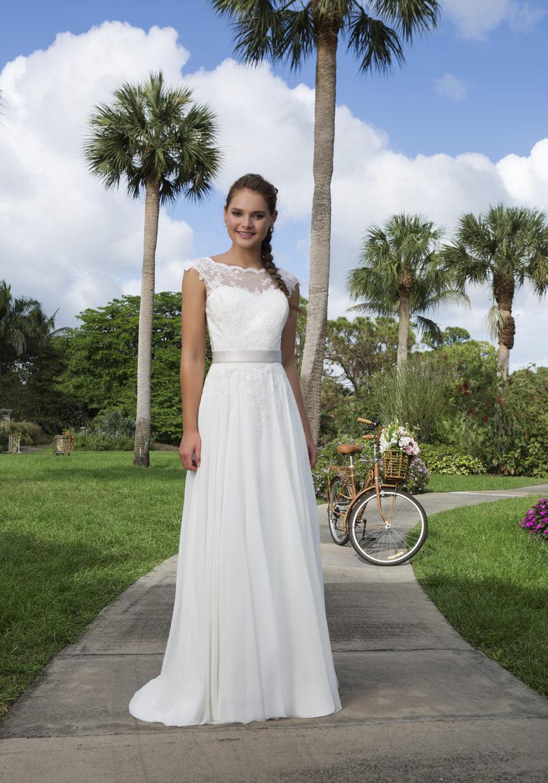 Romantisk brudklänning 0030