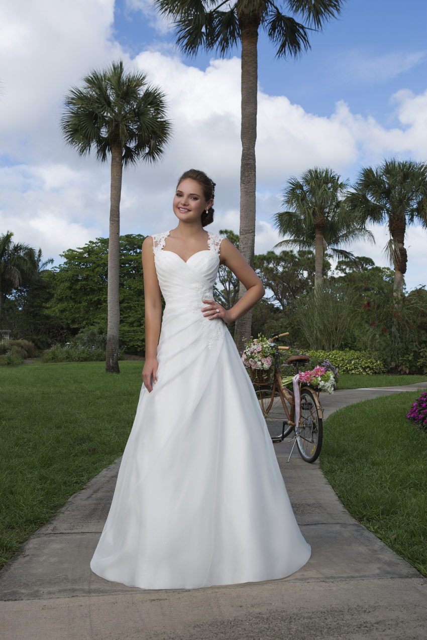 Romantisk brudklänning 0031