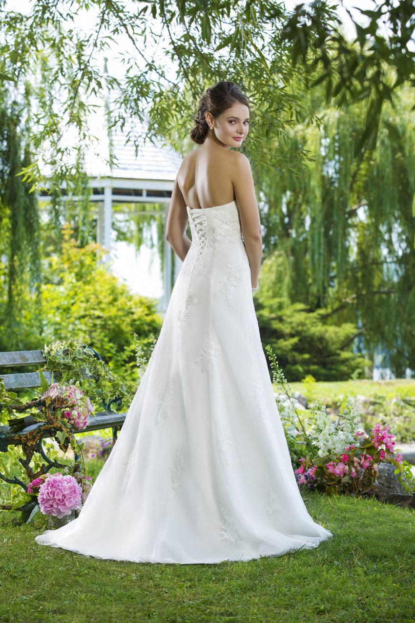 Romantisk brudklänning 0034