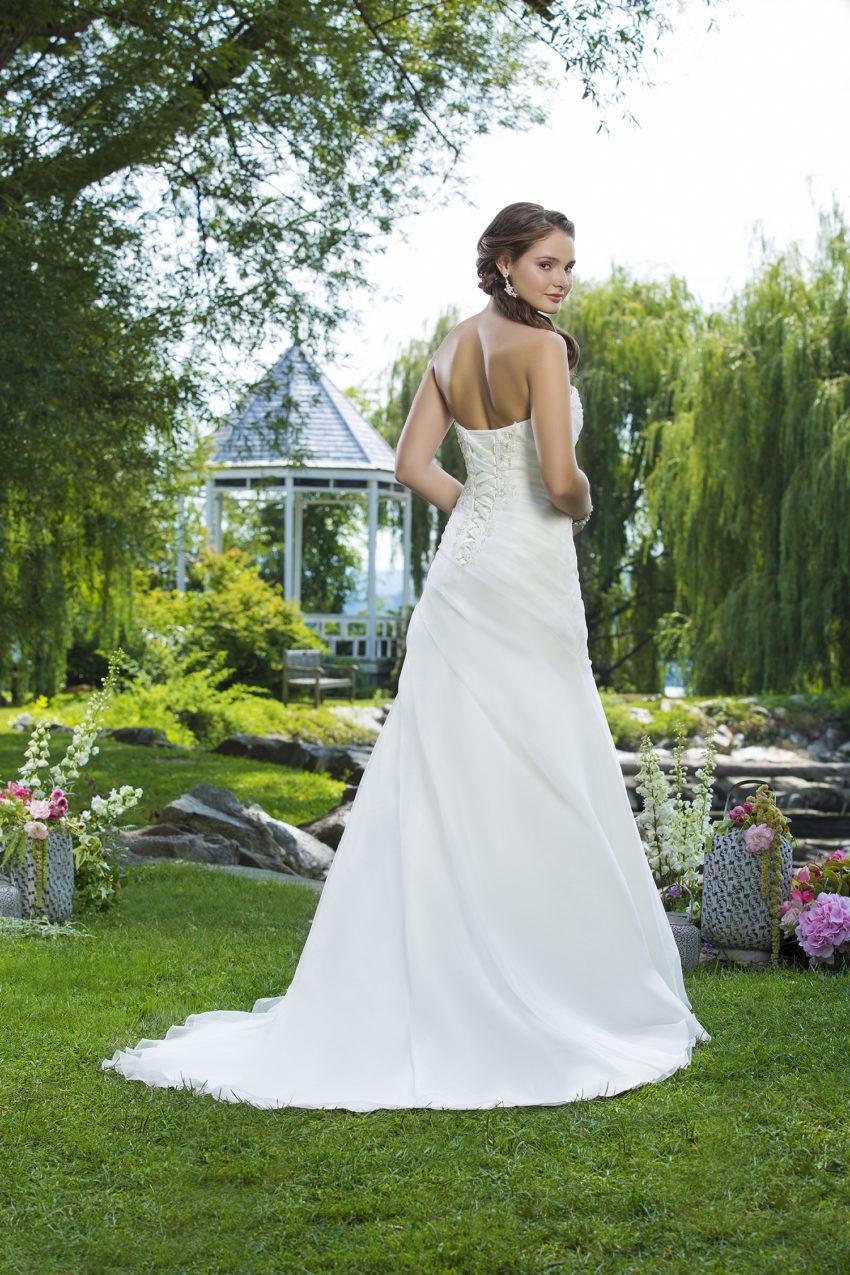 Romantisk brudklänning 0036
