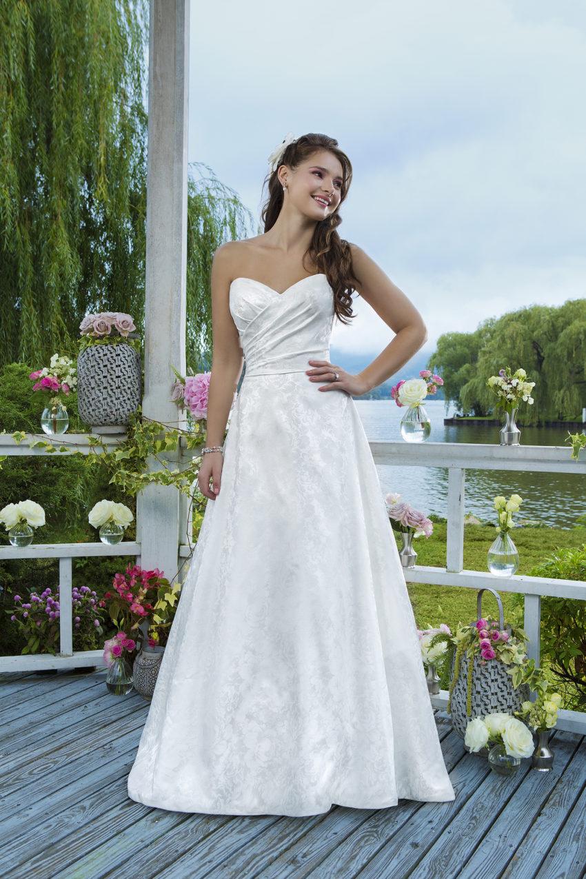 Romantisk brudklänning 0040