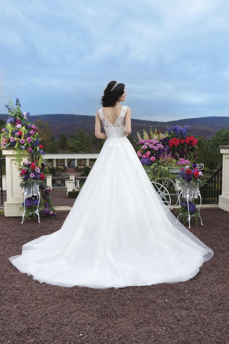 Romantisk brudklänning 0046