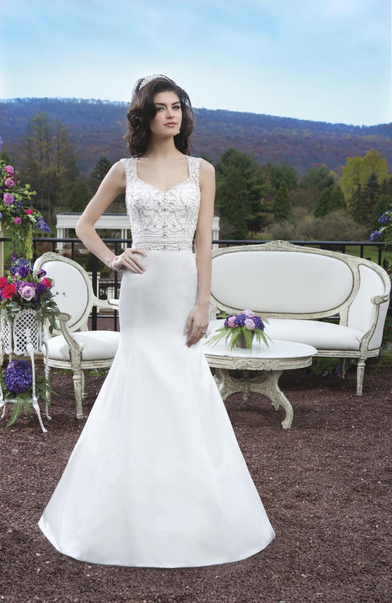 Romantisk brudklänning 005