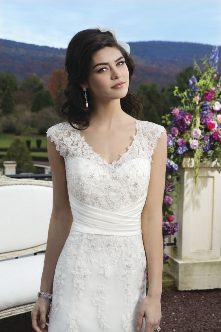 Romantisk brudklänning 007
