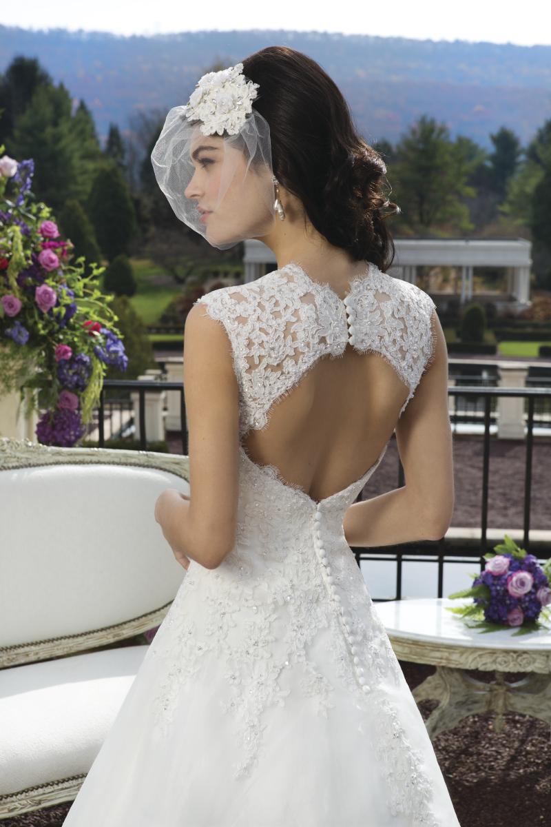Romantisk brudklänning 009