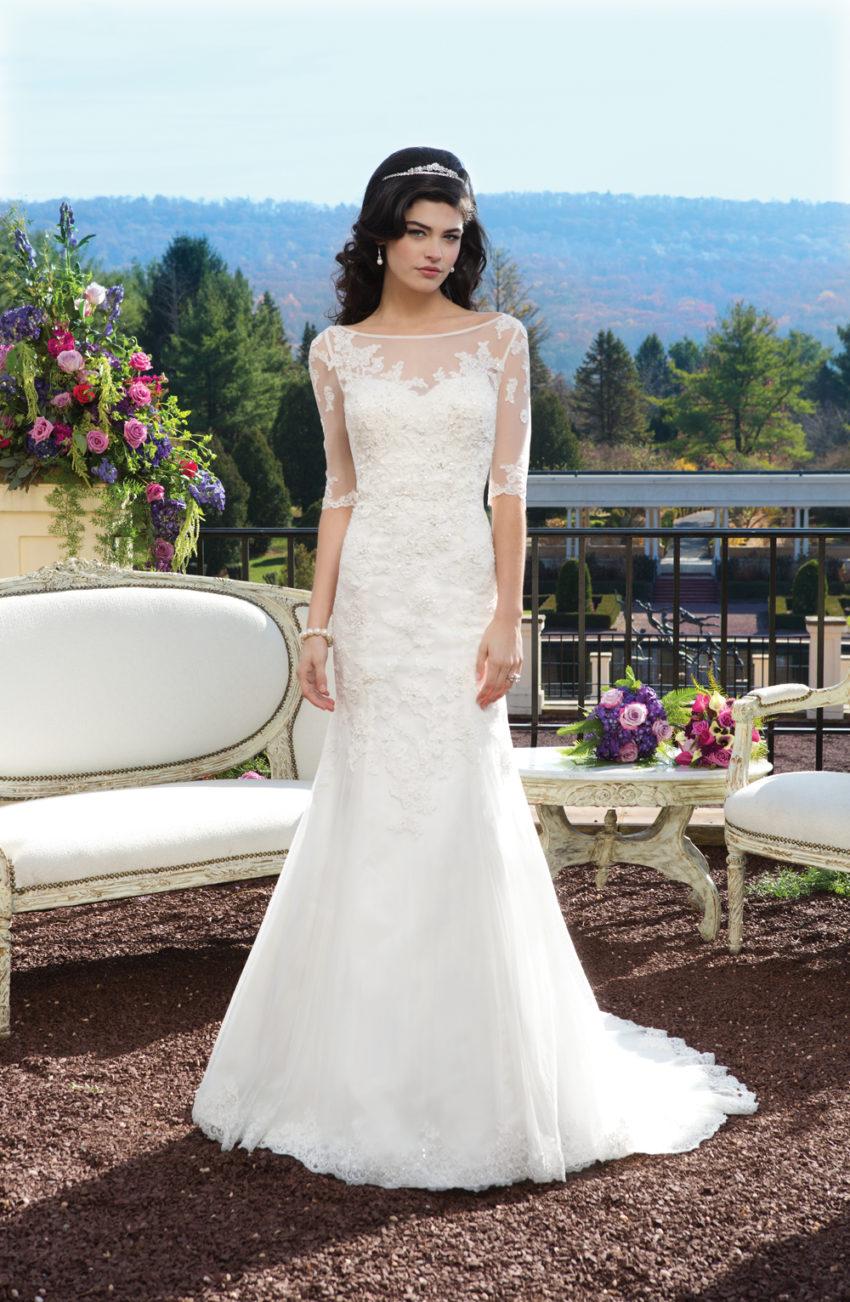Romantisk brudklänning 010
