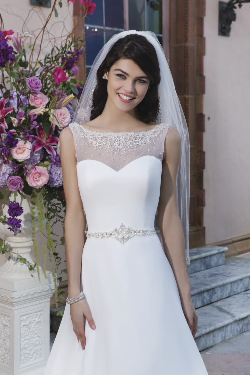 Romantisk brudklänning 013