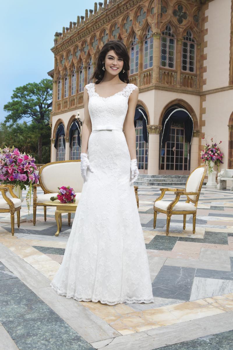 Romantisk brudklänning 017