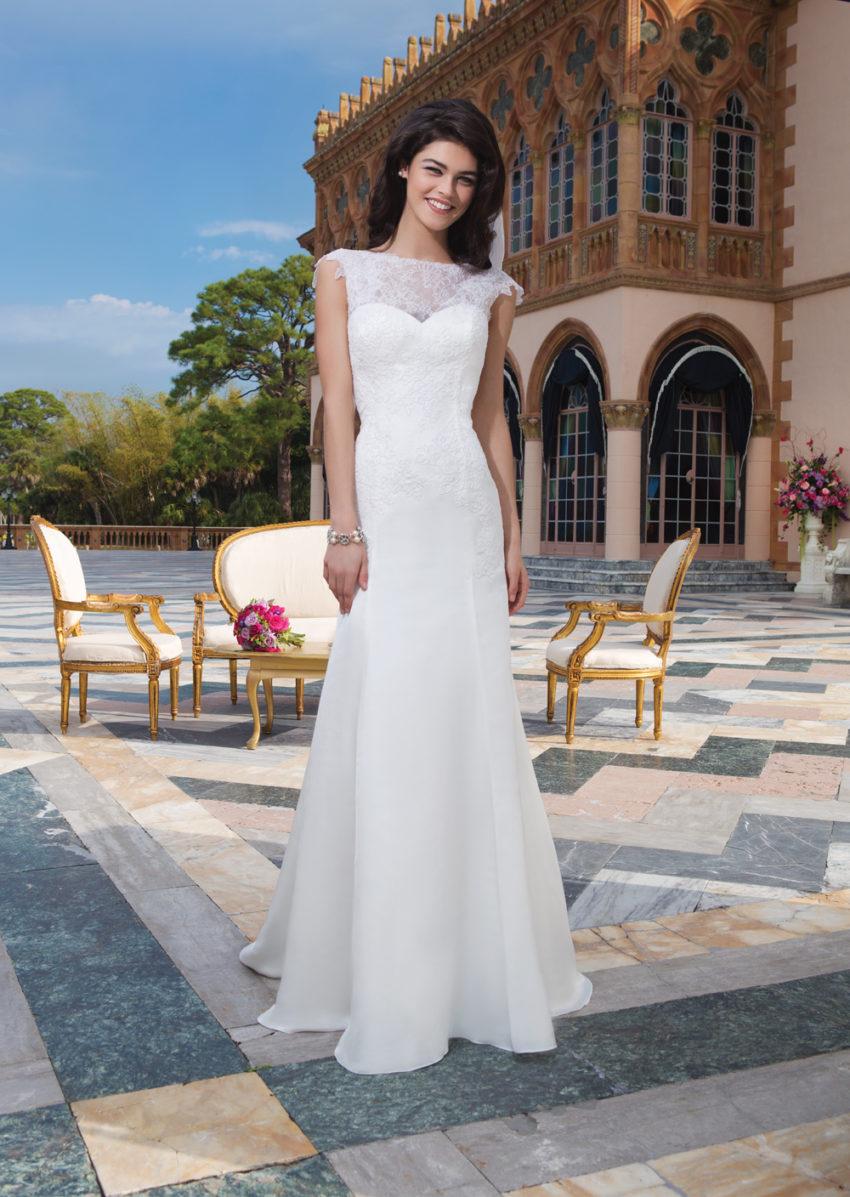Romantisk brudklänning 018