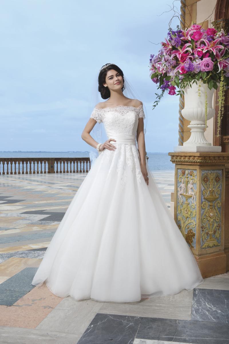 Romantisk brudklänning 019