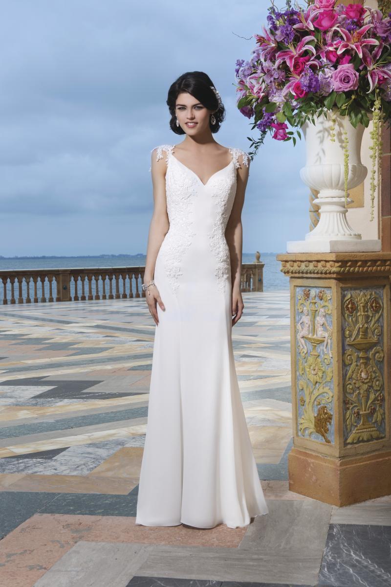 Romantisk brudklänning 020