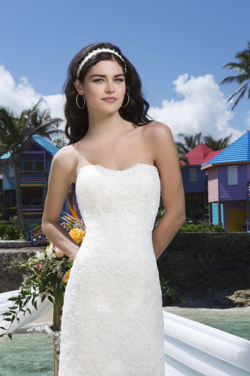 Romantisk brudklänning 023